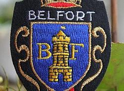 Ecussons - 4 blasons de Belfort 1