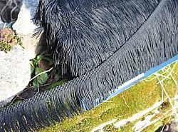 Passementerie - Frange noire 1