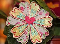 Motifs thermocollants - Fleurs fantaisies 1