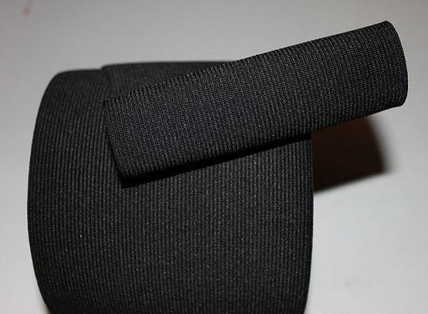 Elastique noir large 1