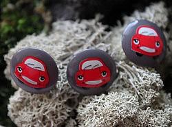 """Bouton - Auto """"Cars"""" 1"""