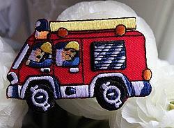 Motifs thermocollants - Camions de pompiers 1