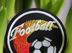 Motif thermocollant - Football 1