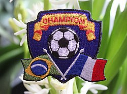 Motif thermocollant - Champion 1