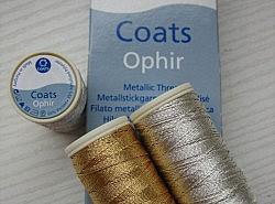 COATS - Fil métallisé OPHIR 1
