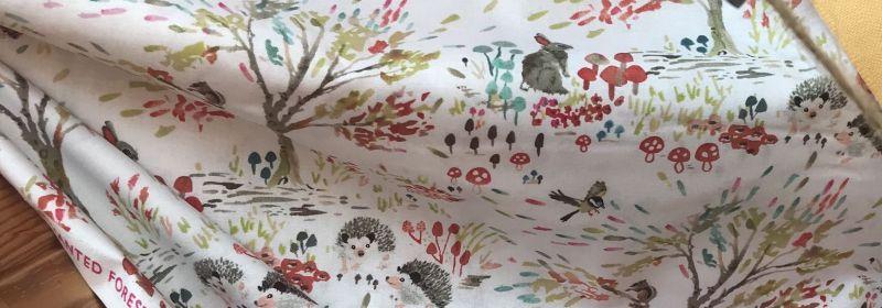 Tissu – Petits animaux des champs et des arbres