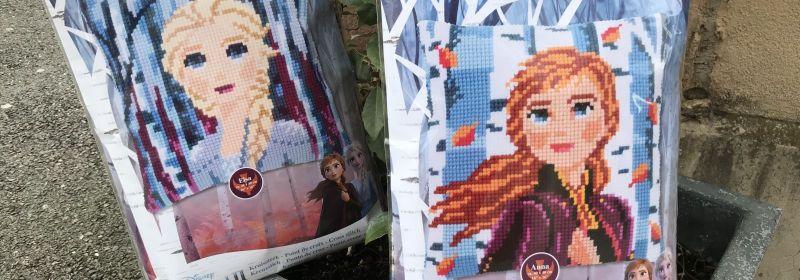 Canevas – Disney : kits Elsa et Anna