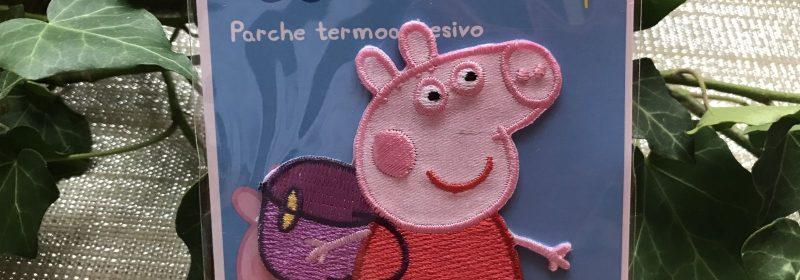 Motif – Peppa Pig part à l'école
