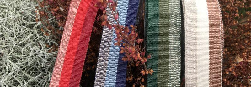 Tresse réversible – 3 couleurs et fil métallisé